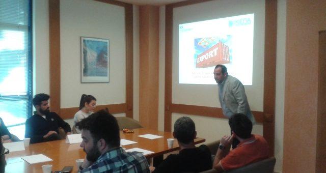 Ιδιαίτερα μεγάλη ζήτηση για το Workshop με θέμα «Ανάπτυξη Εξαγωγών»