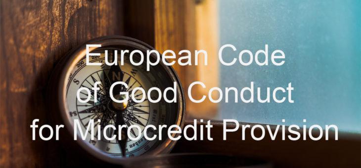 Απονομή Πιστοποίησης σύμφωνα με τον Ευρωπαϊκό Κώδικα Δεοντολογίας για την Παροχή Μικροπιστώσεων (ECoCG)