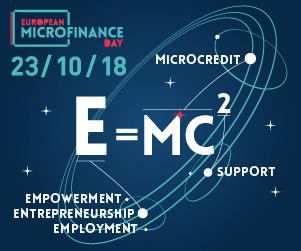 Συμμετέχουμε στην 4η Ευρωπαϊκή Ημέρα Μικροχρηματοδοτήσεων «E=mc2», Τρίτη 23 Οκτωβρίου 2018