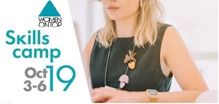Περί χρηματοδοτικών εργαλείων ο λόγος, στο Skills Camp Thessaloniki του Women on Top