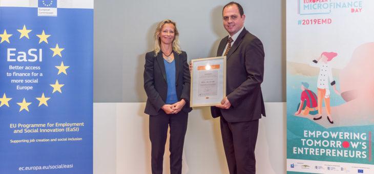 Απονομή του Πιστοποιητικού για τον «Ευρωπαϊκό Κώδικα καλής Πρακτικής για τη χορήγηση μικροπιστώσεων» στο ΚΕΠΑ και το microSTARS