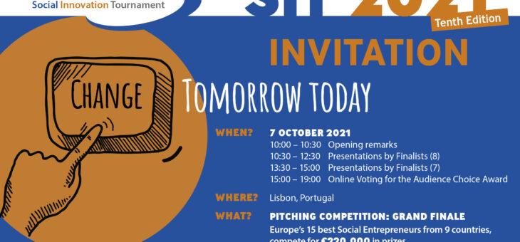Το EIB Institute επιβραβεύει τους φιναλίστ του Social Innovation Tournament 2021